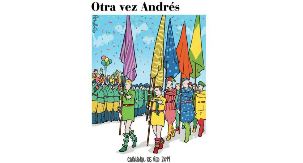 Otra vez Andrés: Halloween y la crisis en el país desde la mirada de Edery