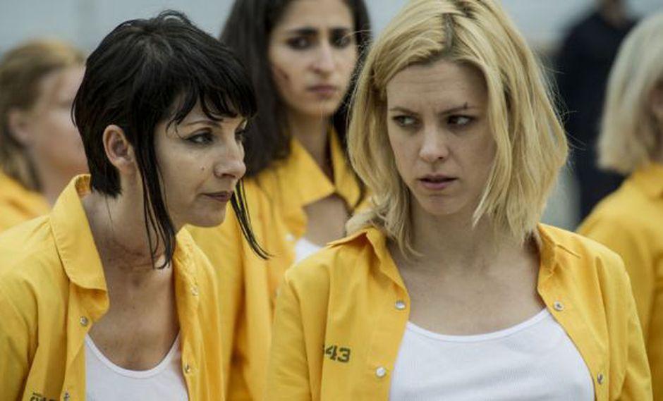 """Vis a vis"" debía terminar con Macarena y Zulema (Foto: Fox España)"