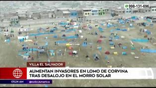 VES: llegan más invasores al Lomo de Corvina tras el desalojo del Morro Solar