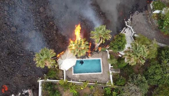 El turismo es una de las actividades económicas de La Palma. Algunos alojamientos turísticos están siendo afectados por la lava. (Getty Images).