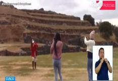 Cusco: turismo se reactiva en parques arqueológicos