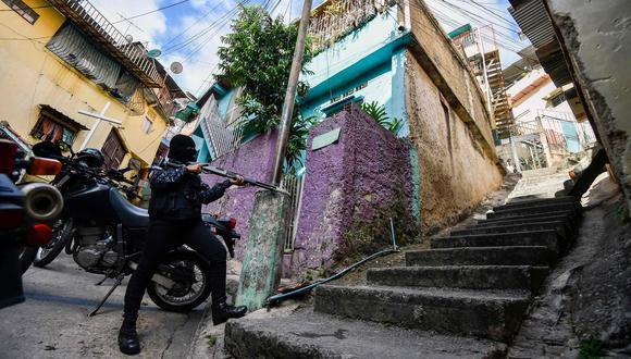 Venezuela: así asesina el FAES a los críticos de Nicolás Maduro en los barrios pobres de Caracas | José Félix Ribas. (AFP).
