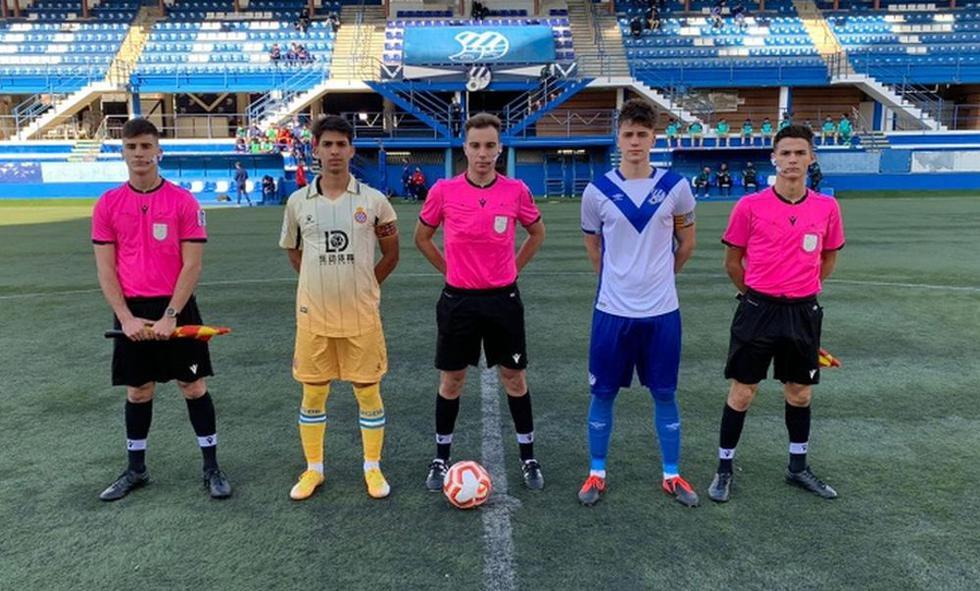 Burlamaqui es el capitán del RCD Espanyol Juvenil A | Foto: Prensa RCD Espanyol Juvenil A