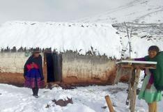 Huancavelica: fuertes nevadas afectan familias y causan muerte de ganado