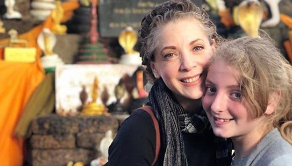 Edith González junto con la niña que heredó su legado, Constanza (Foto: Edith González / Instagram)