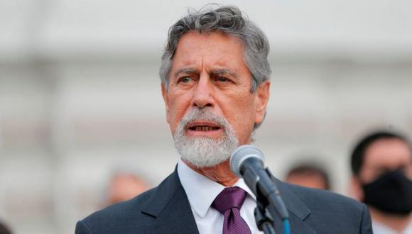 El presidente Sagasti está por cumplir 100 días en el gobierno, tras asumir el cargo el 17 de noviembre del año pasado. (Foto: Andrés Gonzáles / AFP)