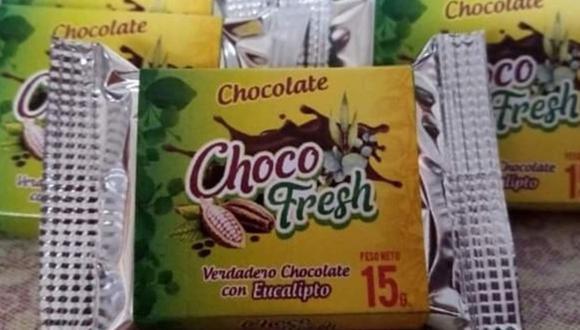 Huánuco: Elaboran chocolate con eucalipto que contribuye a la mejora de males respiratorios. (Foto: Andina)