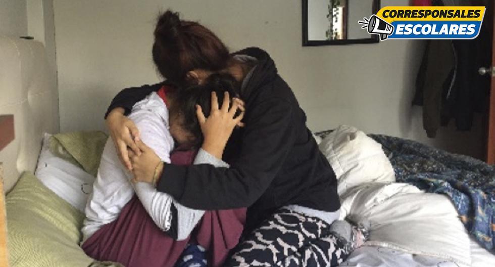 El abrazo de una madre, una solución reconfortante (Fotos: Mía Mas - INNOVA SCHOOLS)