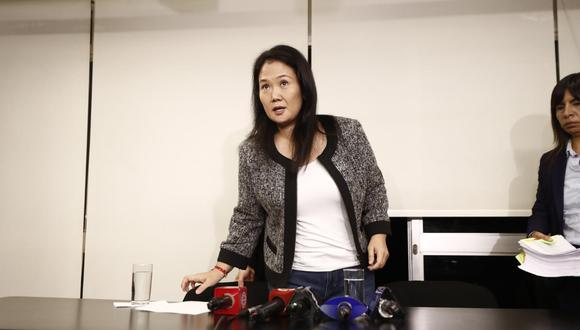 """""""Ya que [el fiscal] no pudo mantenerme presa, ahora lo que busca es eliminar a todo el fujimorismo"""", afirma Fujimori Higuchi. (Foto: GEC)"""