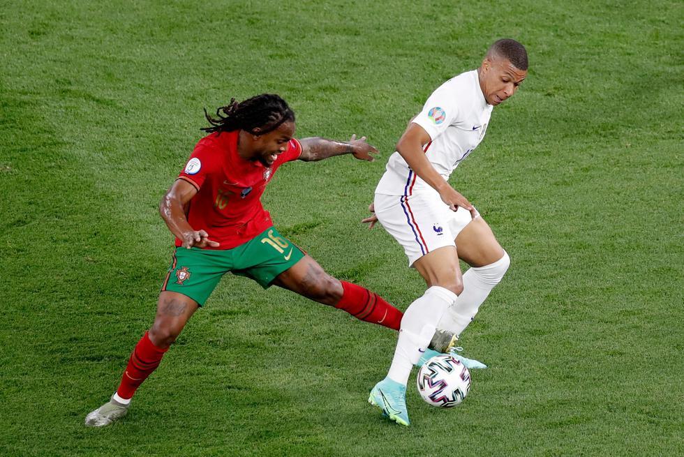 Portugal enfrentó a Francia por la Eurocopa 2021