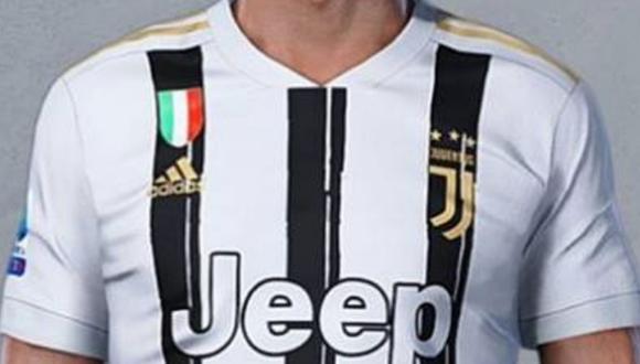 Juventus ya tendría su nueva camiseta para la próxima temporada. (Foto tomada del portal AS)