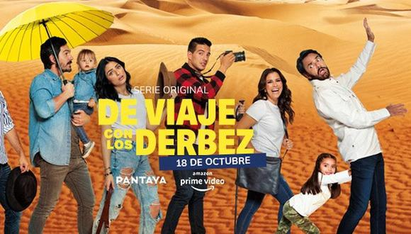 """Amazon Prime estrenó """"De viaje con los Derbez"""" y muestra al natural a toda la familia Derbez en su aventura por Marruecos (Foto: Instagram)"""