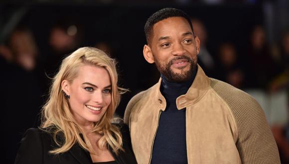 """Will Smith y Margot Robbie vencieron a """"50 sombras de Grey"""""""