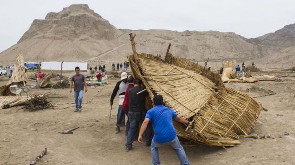 Desalojan invasores que ocuparon área de complejo arqueológico - 1