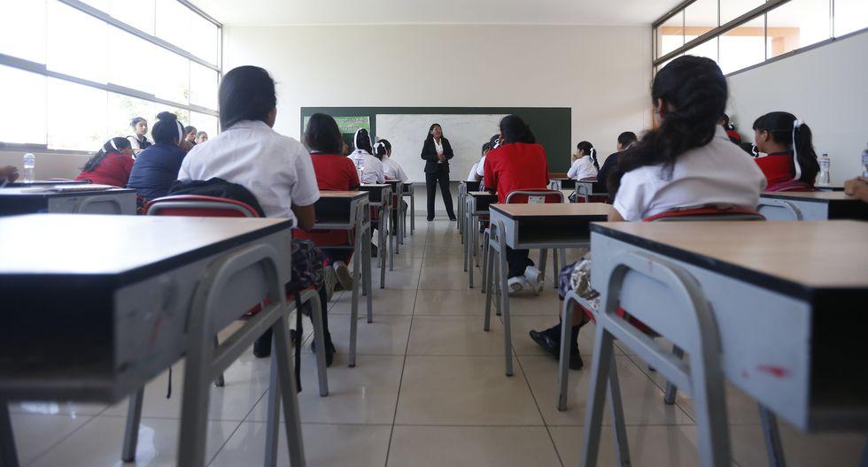 Indecopi se pronunció sobre la devolución de la cuota de ingreso a los colegios. (Foto: GEC)