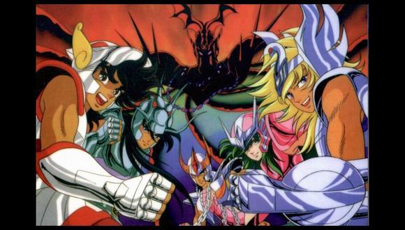 'Saint Seiya' es uno de los animes más recordados de la década de los 80. (Wikipedia)