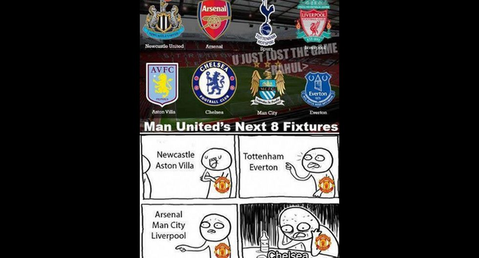Manchester United: memes contra Van Gaal por sentar a Falcao - 4