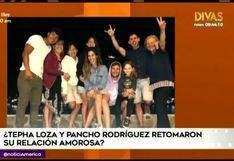 EEG: Pancho Rodríguez y Tepha Loza estarían saliendo nuevamente