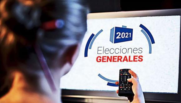 Cobertura televisiva de las Elecciones 2021 logró récord de audiencia. (Foto: ONPE)