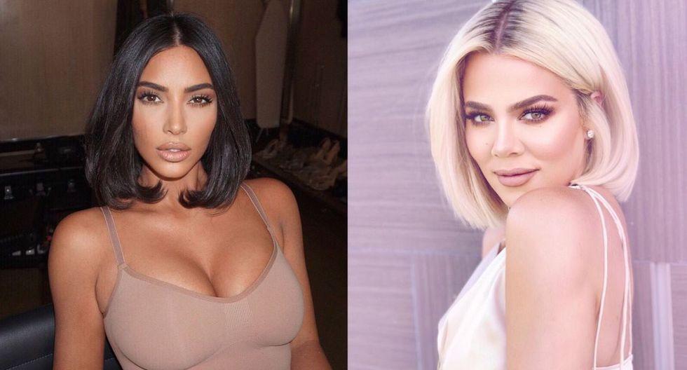Kim Kardashian es la primera que suele defender a sus hermanas ante cualquier escándalo, como pasó con Khloé (Foto: @kimkardashian/@khloekardashian)