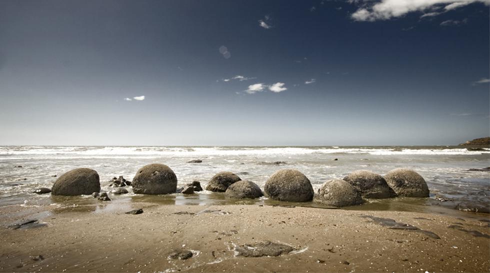 Descubre el atractivo de las piedras Moeraki en Nueva Zelanda - 1