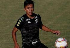 Alexander Lecaros y la asistencia que terminó en golazo en su debut en Botafogo | VIDEO