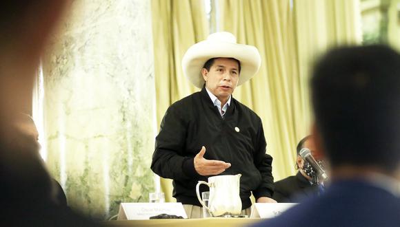 Advirtió que la desertificación sigue acabando con los bosques, especialmente en la Amazonía. (Foto: Presidencia)