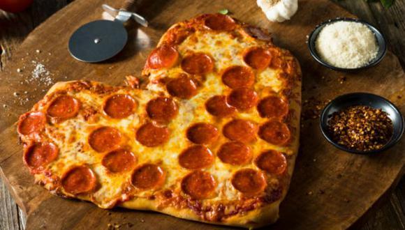 La pizza de corazón promete tener una gran demanda. (Foto: referencial Istock)