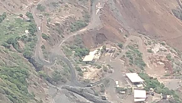 El hecho ocurrió la madrugada del sábado debido a la fuga de un relleno hidráulico mientras los mineros realizaban labores de excavación (Foto: cortesía)