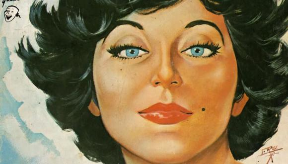 """""""Rubí"""" fue publicada por primera vez en 1963 en las páginas de la revista """"Lágrimas, risas y amor"""", de Editorial Argumentos (EDAR) (Foto: Grupo Editorial Vid)"""
