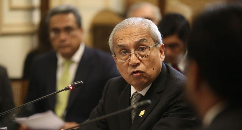 El ex fiscal de la Nación, Pedro Chávarry, ha negado cualquier participación en el ingreso de su ex asesora a las oficinas que lacró José Domingo Përez. (Foto: GEC)