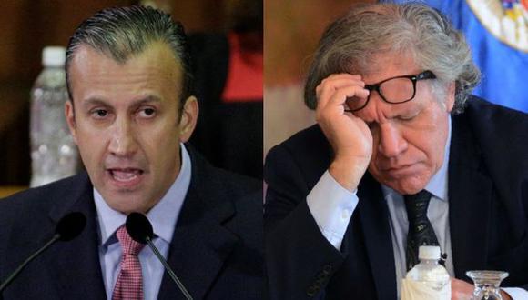 "N° 2 de Maduro llama ""infame antivenezolano"" al jefe de la OEA"
