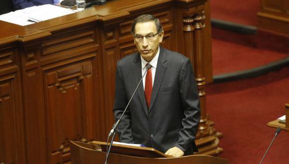 Martín Vizcarra se desempeña actualmente como embajador en Canadá. (Foto: Archivo El Comercio)