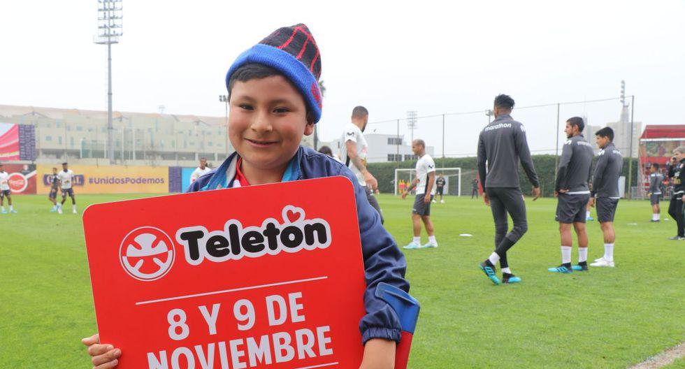 Los jugadores y el entrenador Ricardo Gareca invitaron a la hinchada a unirse a la cruzada que se realizará este 8 y 9 de noviembre. (Foto: USI)