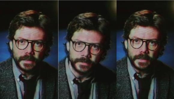 """'El Profesor' de """"La casa de papel"""" envía un mensaje a la 'resistencia' en nuevo teaser de la serie (Foto: Captura)"""