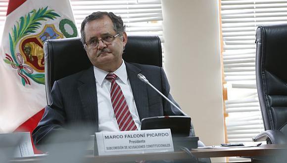 Falconí presentó su dimisión al Congreso para postular al Gobierno Regional de Arequipa. (Foto: Dante Piaggio Díaz / Archivo El Comercio).