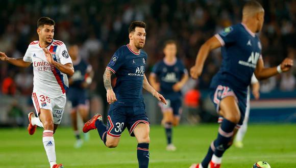 Lionel Messi jugó su primer partido con PSG en el Parque de los Príncipes | Foto: EFE.