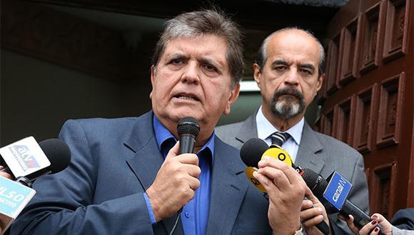 Alan García se pronunció en Twitter sobre el Partido Aprista. (Foto: Agencia Andina)