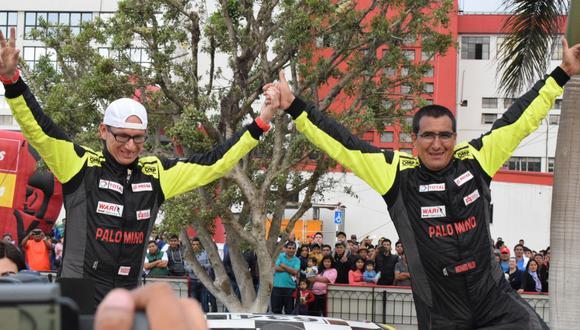Richard Palomino ganó este domingo Caminos del Inca en la categoría T1. (Foto: Team Total)