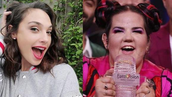 Gal Gadot felicitó así a Netta Barzilai tras triunfo en gala musical. (Foto: Instagram)