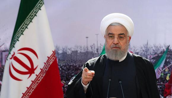 El presidente de Irán Hassan Rouhani. (AFP).