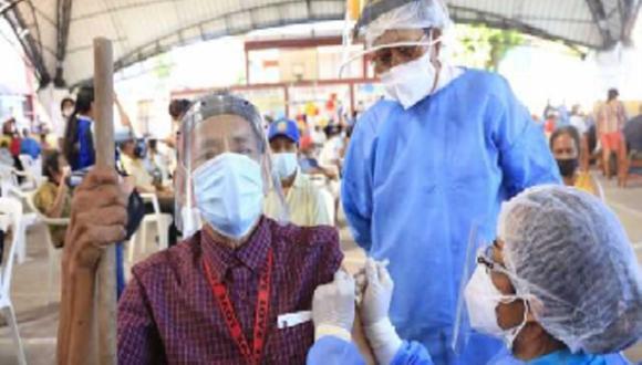 El proceso de vacunación iniciaba a las 07:00 horas y se extendía hasta las 17:00 horas. (Foto: Difusión)