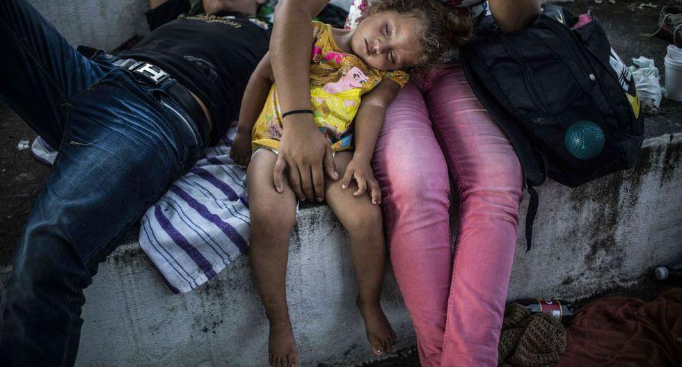 Autoridades mexicanas han dicho que no permitirán el ingreso a su territorio de manera irregular. (Foto: AFP)
