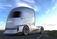 F-Vision Future Truck: conoce el futurista camión de Ford