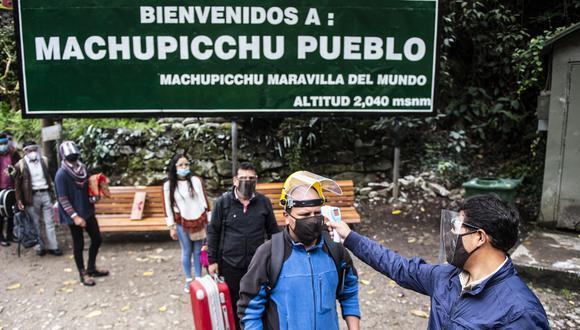 Machu Picchu volvió a recibir turistas nacionales y extranjeros este 1 de noviembre. (Foto: AFP)