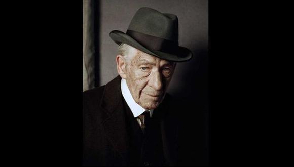 Esta es la primera imagen de Ian McKellen como Sherlock Holmes