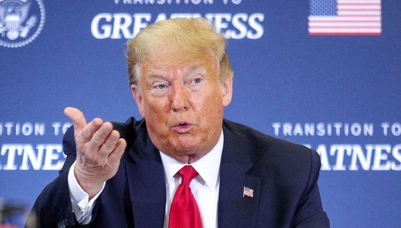 El presidente de los Estados Unidos, Donald Trump, durante una mesa redonda sobre la pesca comercial en Bangor. (Foto: REUTERS / Tom Brenner).