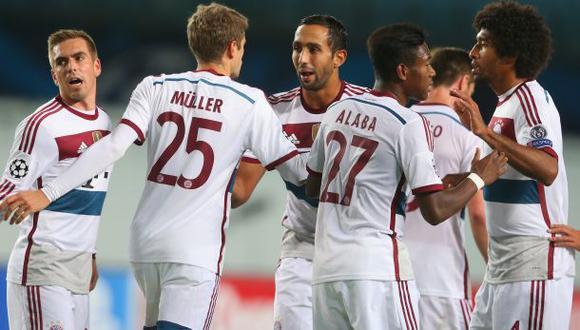 Bayern Múnich ganó 1-0 al CSKA con gol de penal de Müller