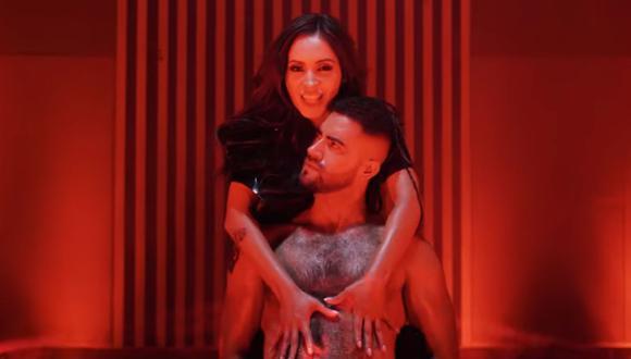 """Pamela Franco feliz con la acogida del video de """"Ojalá que no puedas"""" y le dice """"no"""" a los 'privaditos'. (Foto: Captura)"""