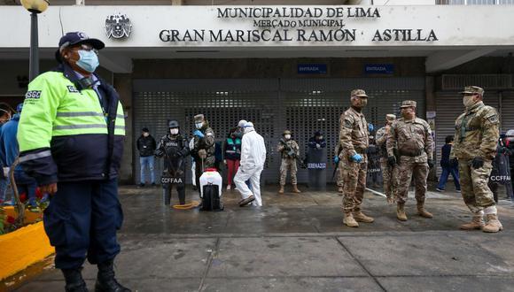 El Mercado Central fue cerrado el pasado miércoles 20 de mayo para evitar más contagios de COVID-19. (Municipalidad de Lima)